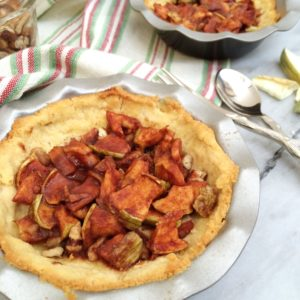 Mini Low Carb Apple Pie | delicious sweet, a perfect gluten free, low carb treat for the holidays!