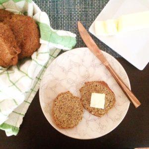 Nut Free Keto Dinner Rolls | A low carb, gluten free & grain free alternative to bread!