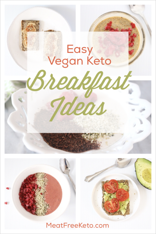 East Vegan Keto Breakfast Ideas | Low carb, gluten free, sugar free recipes to get you through the morning!