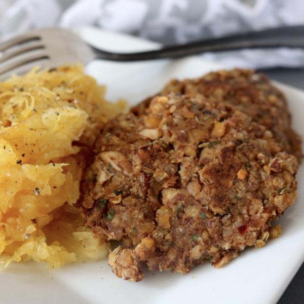 Low Carb Vegan Sausage Patties