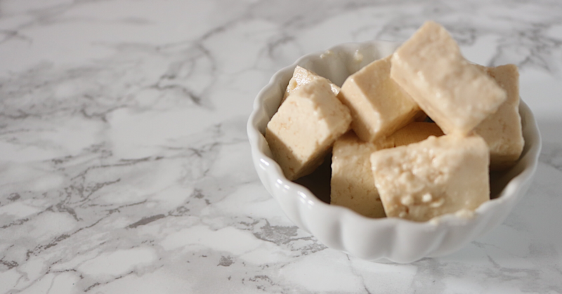 Low Carb Vegan Feta   Meat Free Keto - This tangy low carb vegan feta cheese alternative is perfect for adding to salads, pizza or quiches.