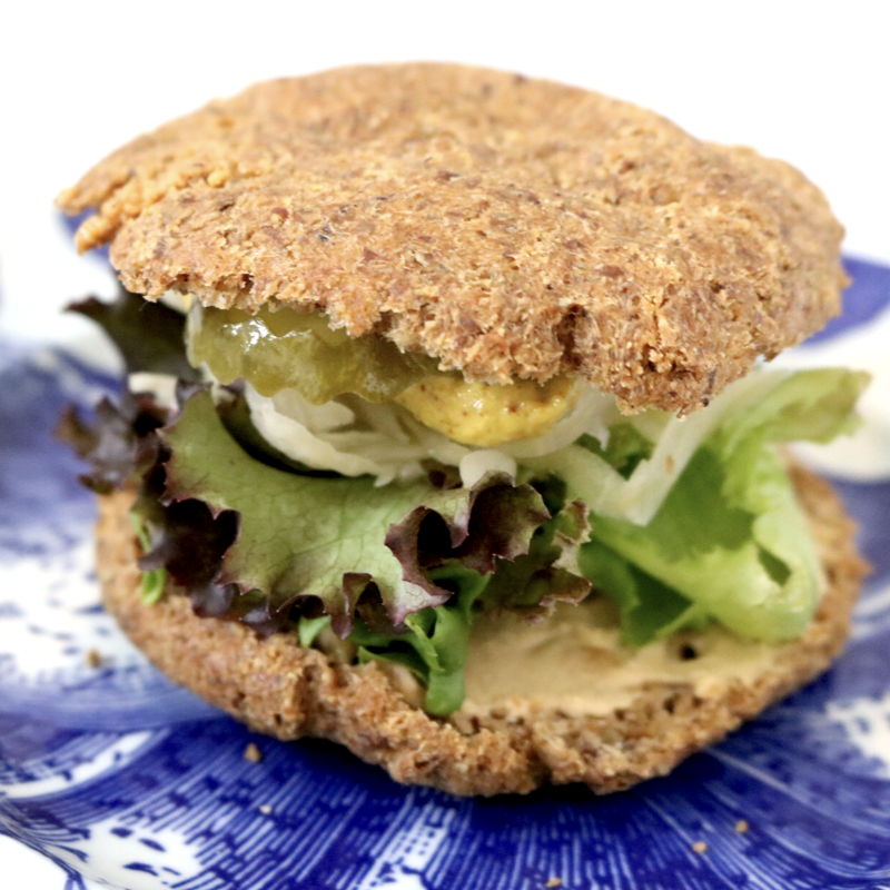 Low Carb Vegan Sandwich Bread (soy free, grain free, gluten free)