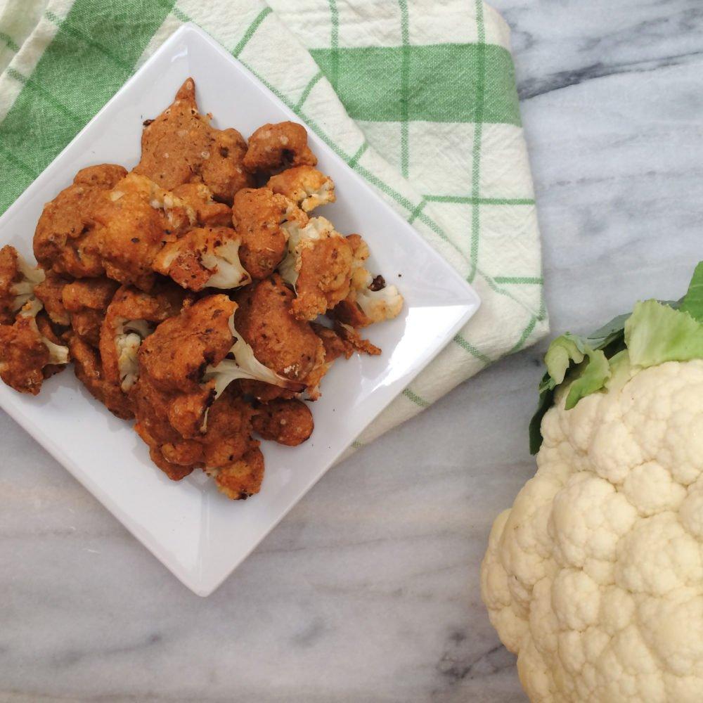 Vegan Low Carb Cauliflower Nuggets