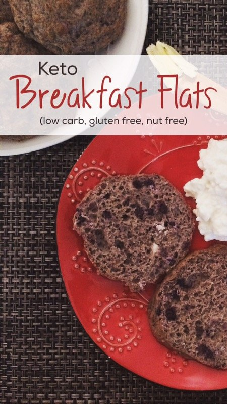 Keto Breakfast Flats | low carb, gluten free, nut free