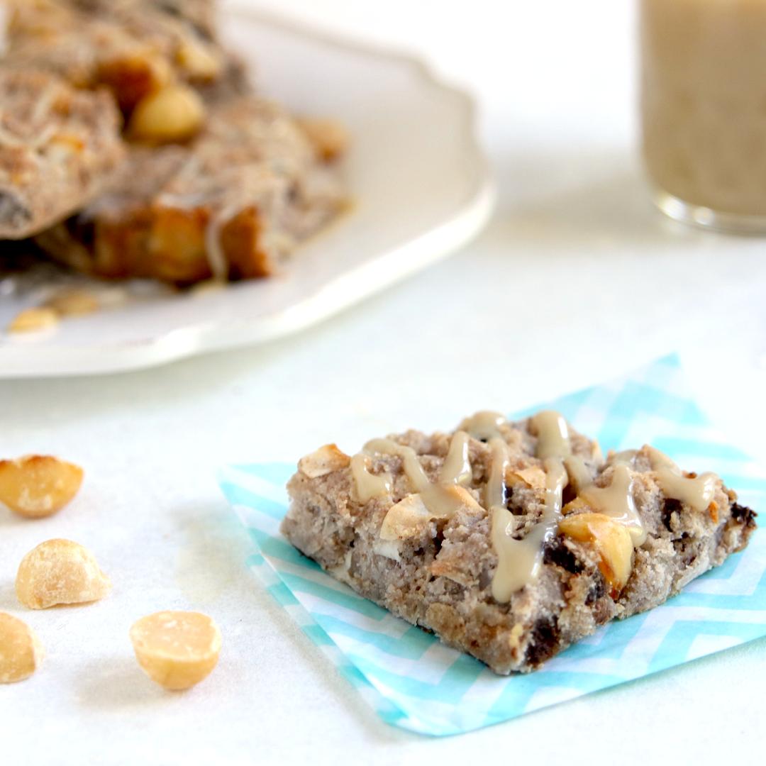 Vegan Keto Cookie Caramel Cookie Bars (gluten-free, soy-free, dairy-free, egg-free)