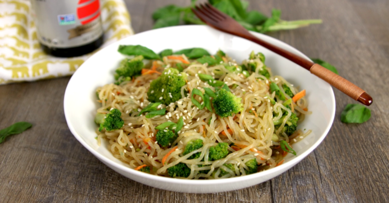Low Carb Vegan Keto Lo Mein | MeatFreeKeto.com A healthy, gluten free alternative to takeout!