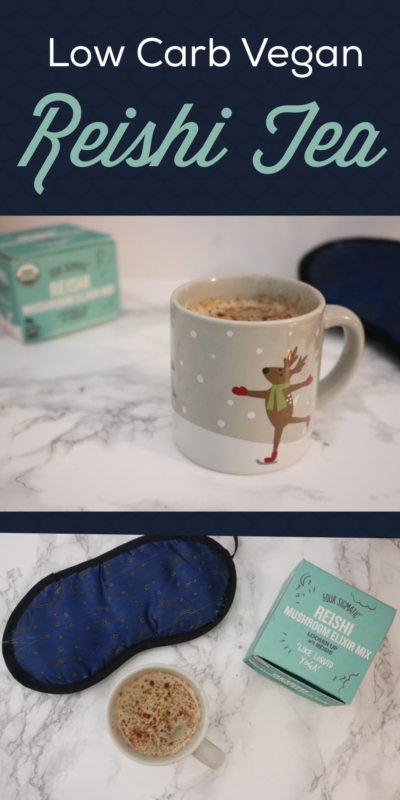 Relaxing Reishi Tea | Meat Free Keto - Sometimes you need a little extra help falling asleep at night, and this vegan latte never fails to do the trick!