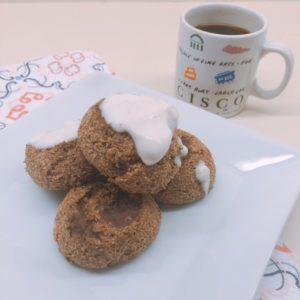 Low Carb Vegan Cinnamon Rolls | Grain free, gluten free, sugar free, nut free and keto friendly breakfast treats!