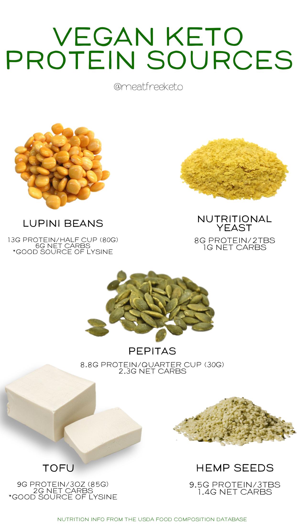 Where Do You Get Protein On A Vegan Keto Diet Meat Free Keto Vegan Keto Recipes